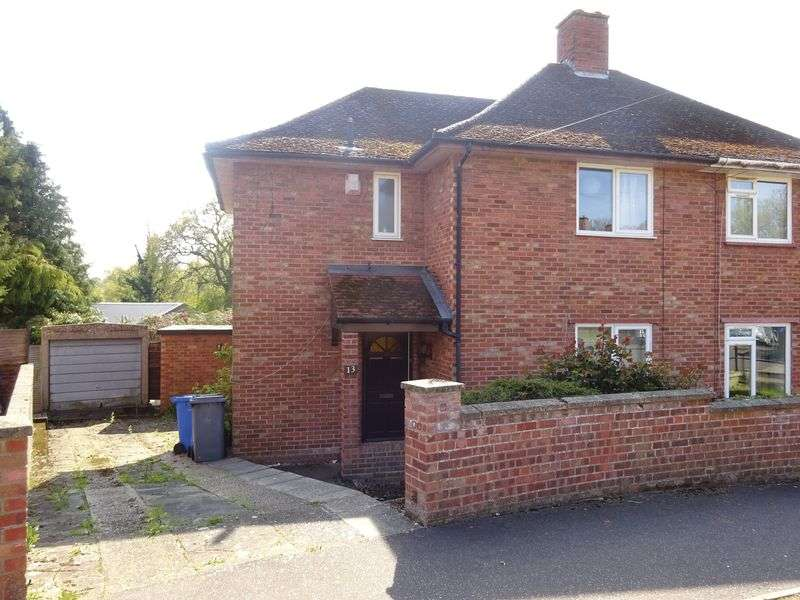 3 Bedrooms Semi Detached House for sale in Robson Road, Norwich