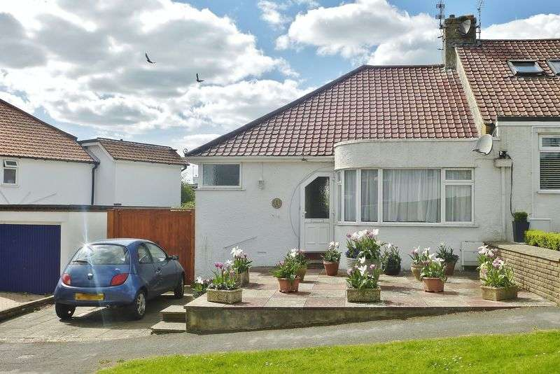 2 Bedrooms Semi Detached Bungalow for sale in Eskbank Avenue, Brighton, East Sussex,