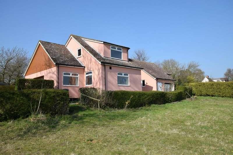 3 Bedrooms Detached House for sale in Kettlebaston, Ipswich