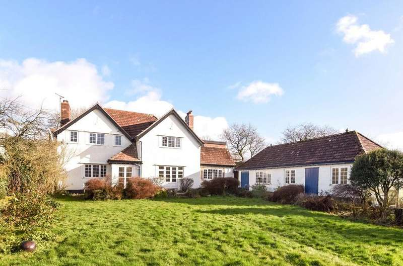 4 Bedrooms Detached House for sale in West Anstey, South Molton, Devon, EX36