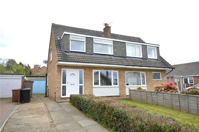 3 Bedrooms Semi Detached House for sale in Kirkby Avenue, Garforth, Leeds, West Yorkshire