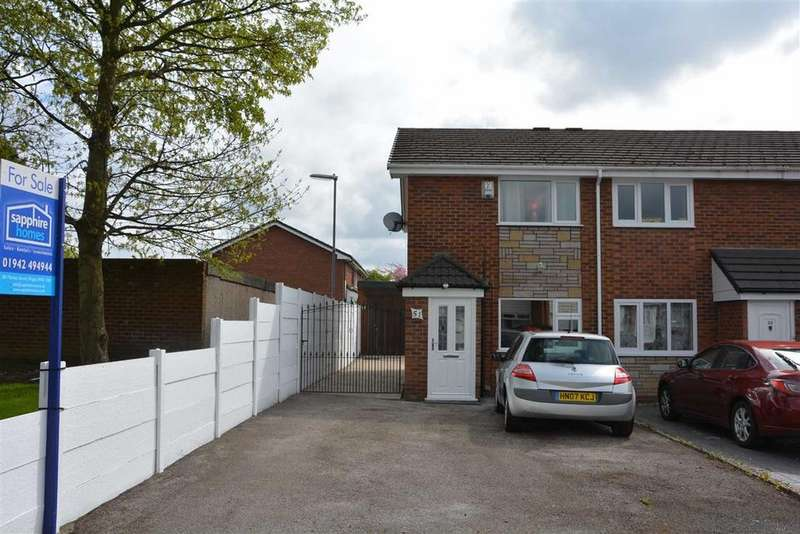 2 Bedrooms Semi Detached House for sale in Baker Street, Poolstock, Wigan, WN3