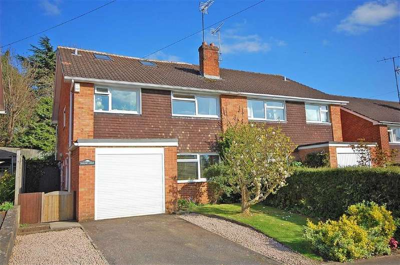 4 Bedrooms Semi Detached House for sale in Copt Elm Road, Charlton Kings, Cheltenham, GL53