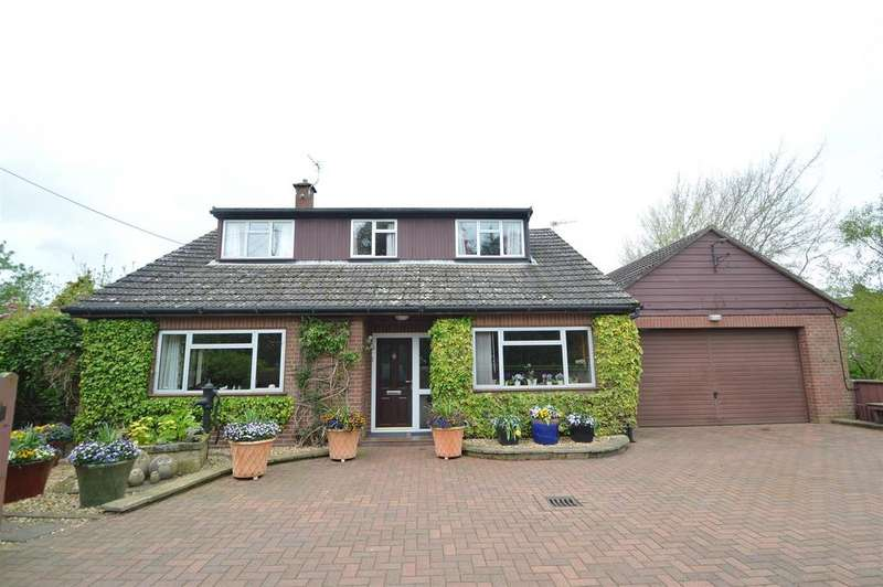 4 Bedrooms Detached House for sale in Shangri-La, Startlewood Lane, Ruyton Xi Towns SY4 1NA