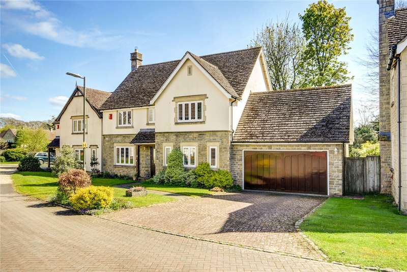 4 Bedrooms Detached House for sale in Dr Crawfords Close, Minchinhampton, Stroud, Gloucestershire, GL6