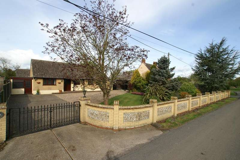 3 Bedrooms Detached Bungalow for sale in The Green, Borley, Sudbury CO10