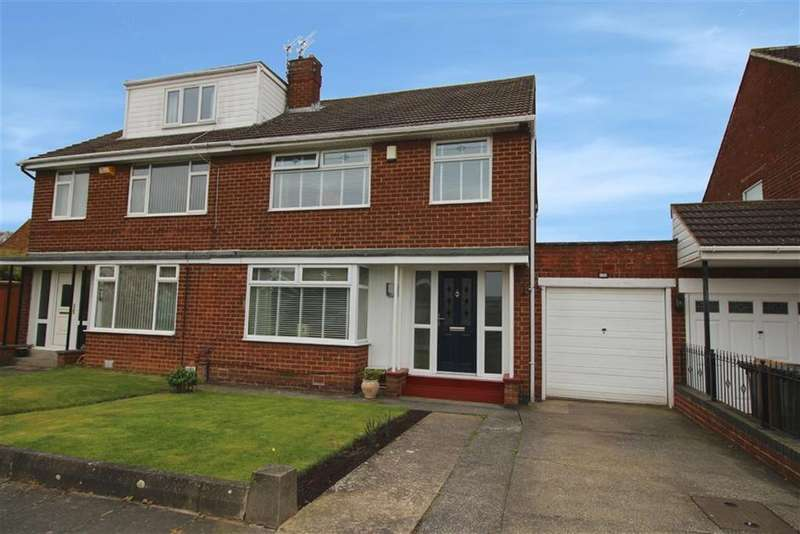 3 Bedrooms Semi Detached House for sale in Weardale Avenue, Newcastle Upon Tyne