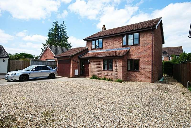 4 Bedrooms Detached House for sale in Bishops Way, Stradbroke