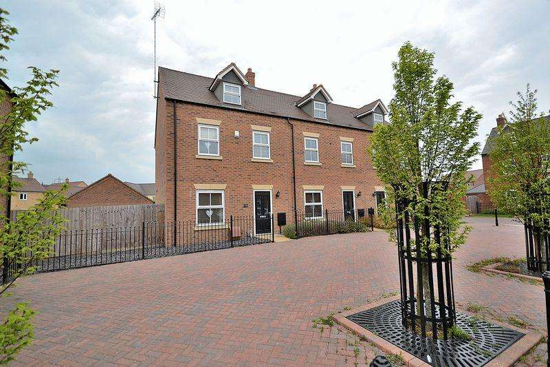 4 Bedrooms End Of Terrace House for sale in Grebe Drive, Leighton Buzzard