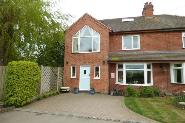 4 Bedrooms Semi Detached House for sale in Grove Fields, Weddington, Nuneaton, Warwickshire