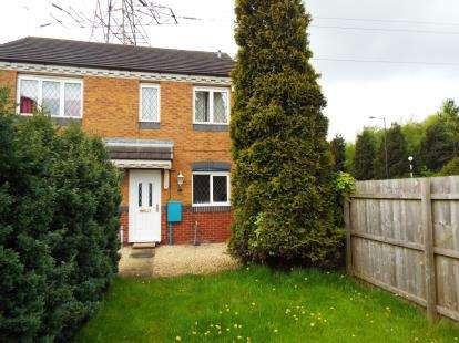 2 Bedrooms Semi Detached House for sale in Rochester Croft, Walsall, West Midlands