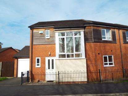 3 Bedrooms Semi Detached House for sale in Kidsgrove, Ingol, Preston, Lancashire