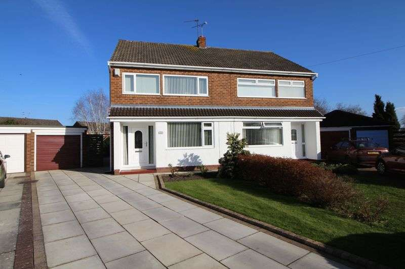 3 Bedrooms Semi Detached House for sale in Coniston Avenue, Bromborough
