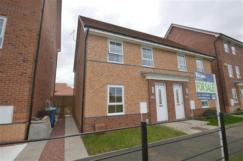3 Bedrooms Semi Detached House for sale in Runton Walk, Liberty Green, Hull, East Yorkshire, HU8