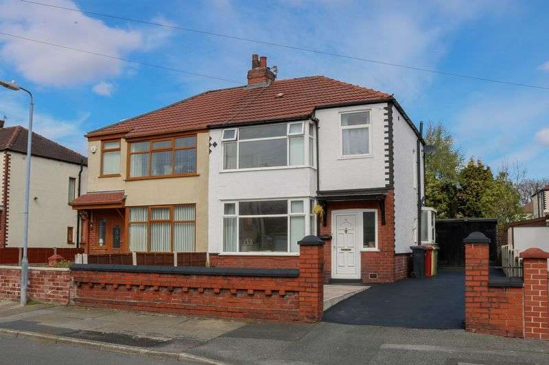 3 Bedrooms Semi Detached House for sale in Wisbeck Road, Tonge Park, Bolton