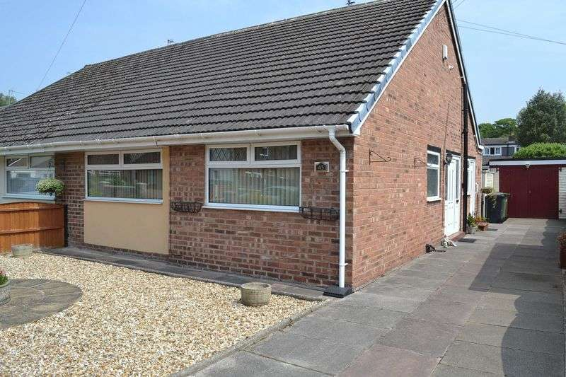 2 Bedrooms Semi Detached Bungalow for sale in Sefton Drive, Maghull