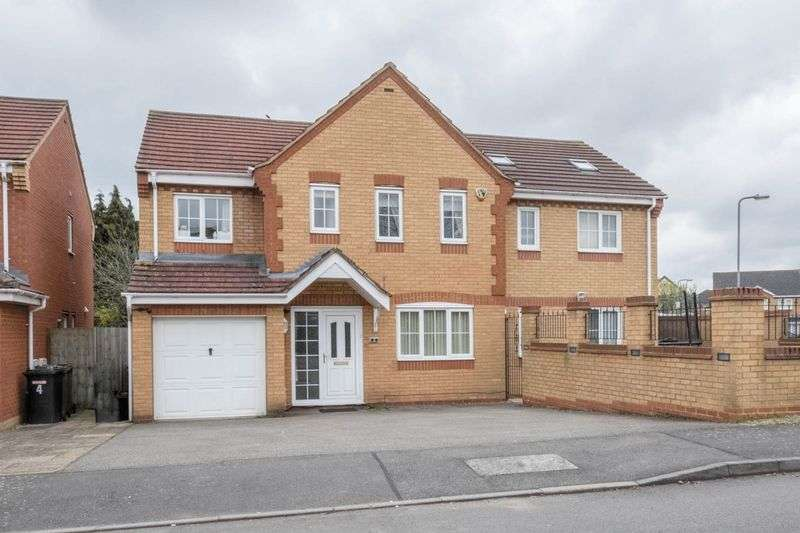 5 Bedrooms Detached House for sale in Evesham Close, Wellingborough