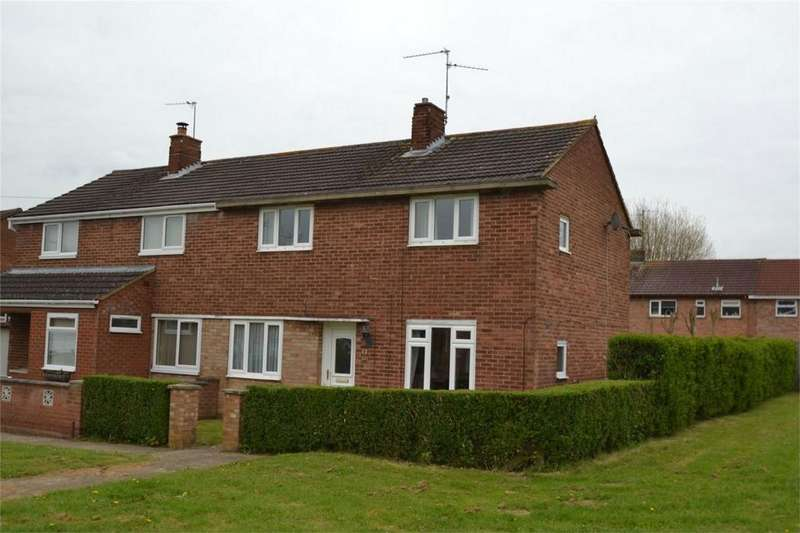 3 Bedrooms Semi Detached House for sale in Rutland Close, Corby, Northamptonshire