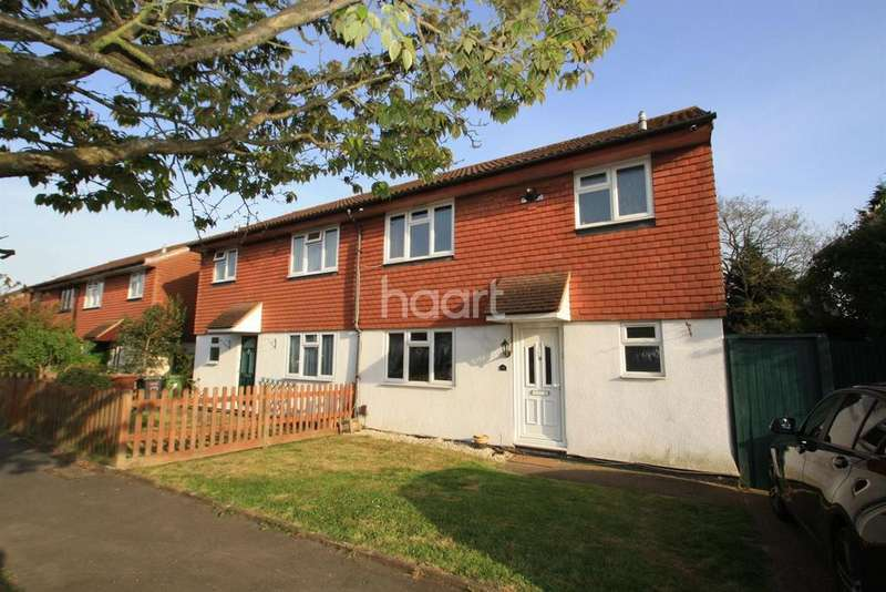 3 Bedrooms Semi Detached House for sale in Scottswood Road, Bushey, WD23