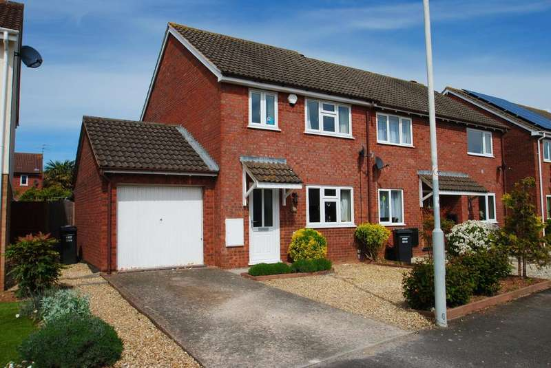 3 Bedrooms Semi Detached House for sale in Thames Drive, Taunton