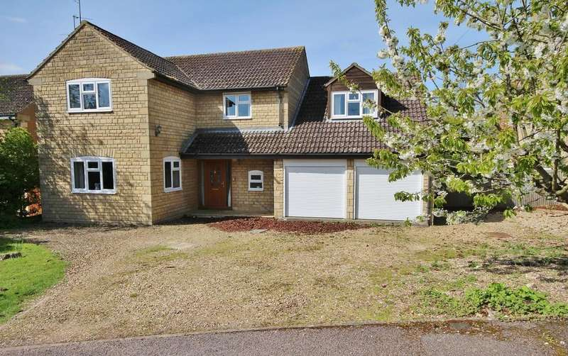 4 Bedrooms Detached House for sale in Dovecote Close, Barrowden