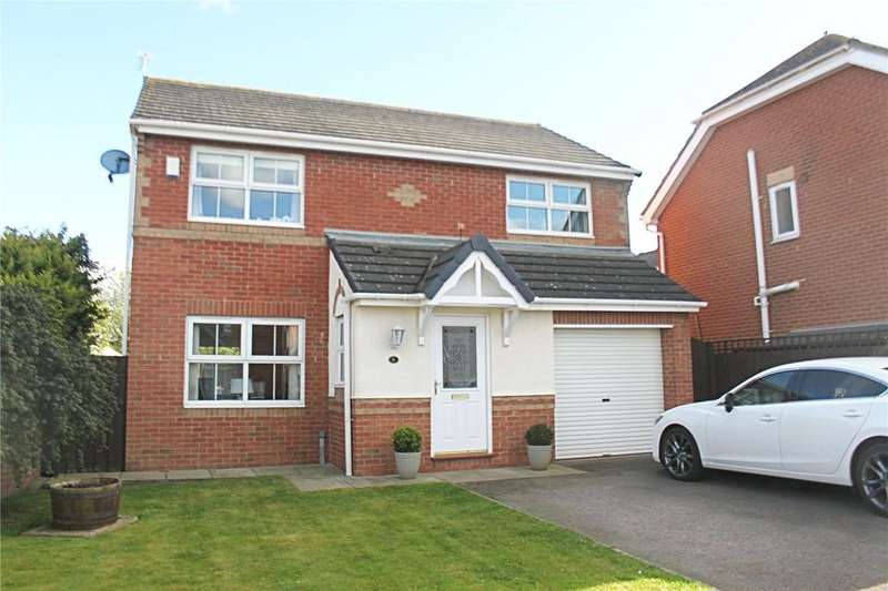 4 Bedrooms Detached House for sale in Royal George Drive, Eaglescliffe