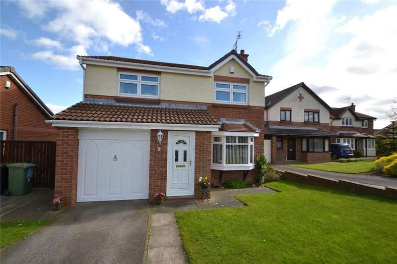 4 Bedrooms Detached House for sale in Hilton Drive, Peterlee, Co.Durham, SR8