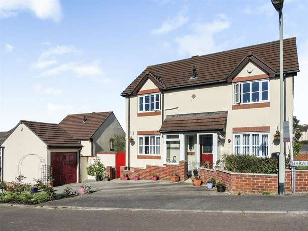 4 Bedrooms Detached House for sale in Harvest Lane, Bideford, Devon