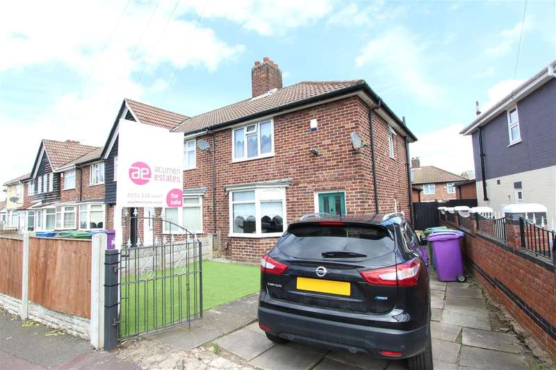 3 Bedrooms Town House for sale in Broadoak Road, Dovecot, Liverpool