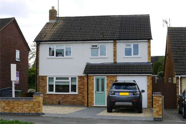 5 Bedrooms Detached House for sale in Western Avenue, Market Harborough, Leicestershire