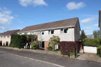 3 Bedrooms Semi Detached House for sale in Cairngorm Crescent, Barrhead, East Renfrewshire