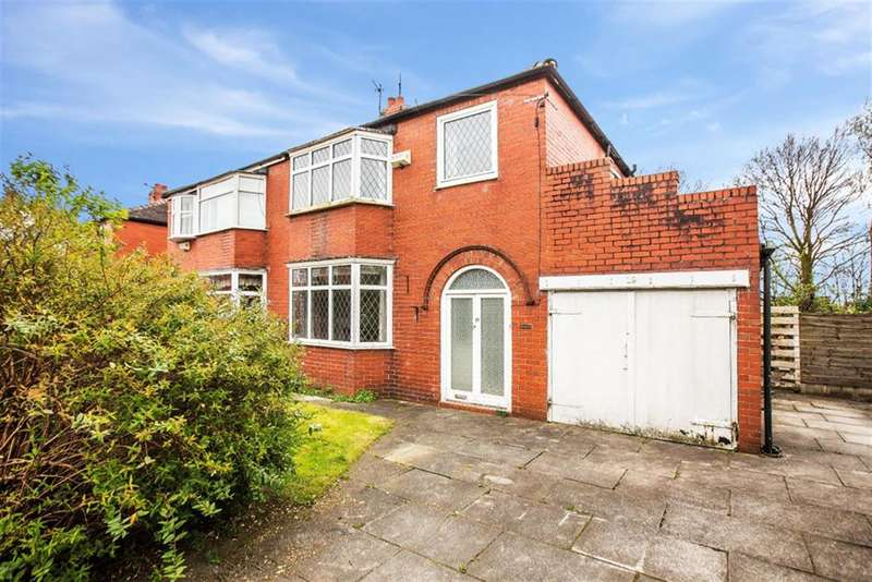 3 Bedrooms Semi Detached House for sale in Valdene Drive, Worsley, Manchester, M28 7HA