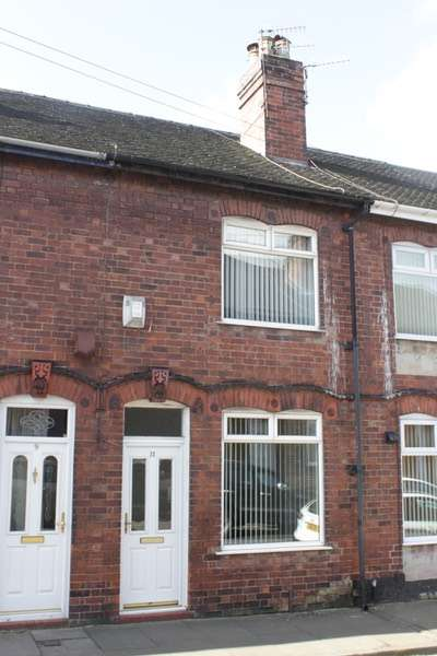 2 Bedrooms Terraced House for sale in Tuscan st, Longton, Staffordshire, ST3