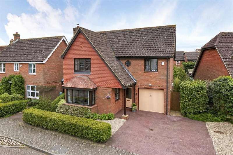 4 Bedrooms Detached House for sale in Lambourne Drive, Kings Hill, ME19 4FN