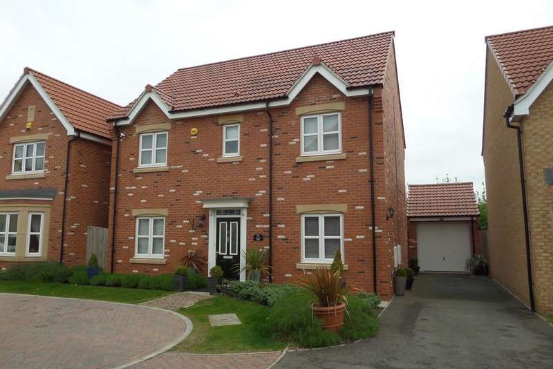 4 Bedrooms Detached House for sale in Maybell Close, Gainsborough