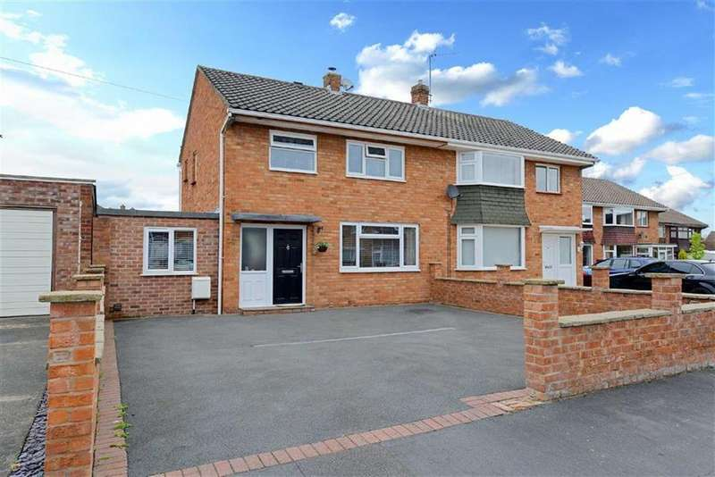 3 Bedrooms Semi Detached House for sale in Newtonmere Drive, Mount Pleasant, Shrewsbury, Shropshire