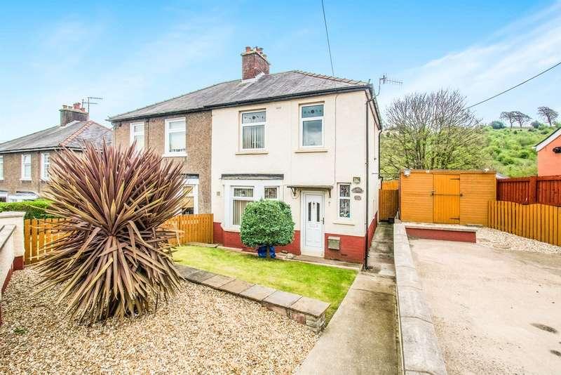 3 Bedrooms Semi Detached House for sale in Dingle Road, Cwmfields, Pontypool