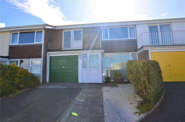 3 Bedrooms Terraced House for sale in Lyme View Close, Babbacombe, Torquay, Devon