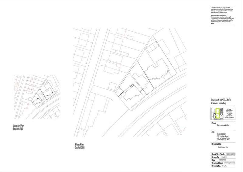 Land Commercial for sale in Building plot adjacent to 79 Baslow Road, Totley, S17 4DP.