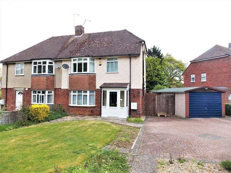4 Bedrooms Semi Detached House for sale in Halls Road, Tilehurst, Reading