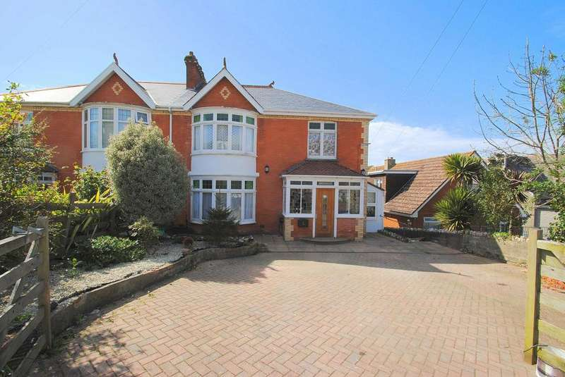 4 Bedrooms Semi Detached House for sale in St. Brannocks Park Road, Ilfracombe