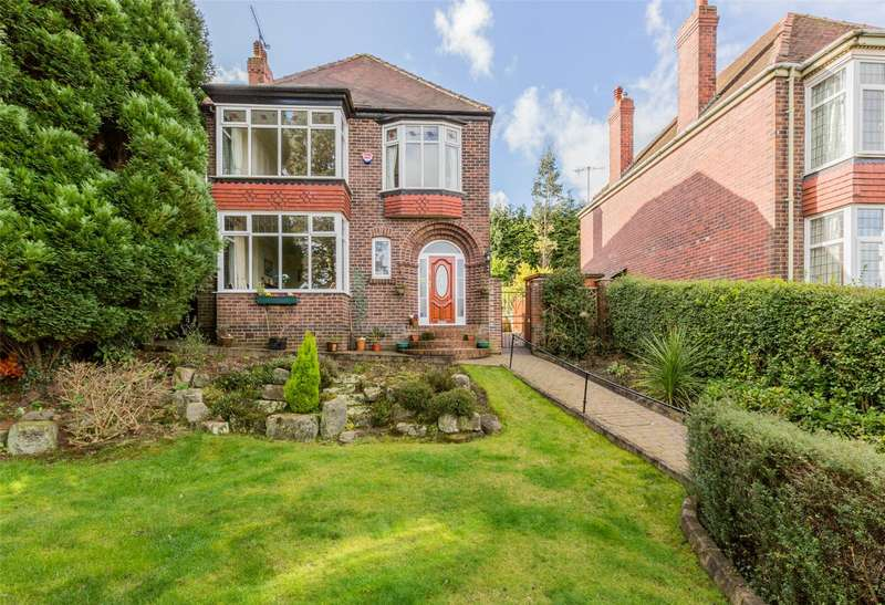4 Bedrooms Detached House for sale in Ecclesall Road South, Ecclesall, Sheffield, S11