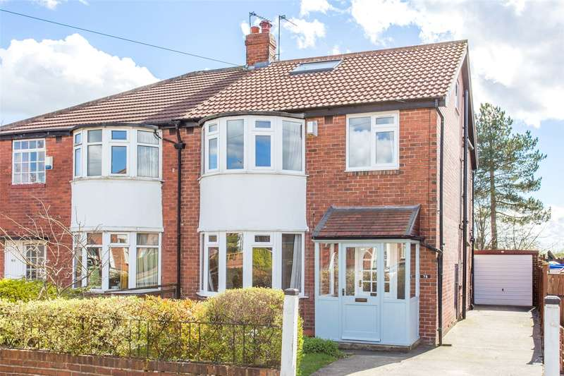 4 Bedrooms Semi Detached House for sale in Gledhow Park Avenue, Leeds, West Yorkshire, LS7