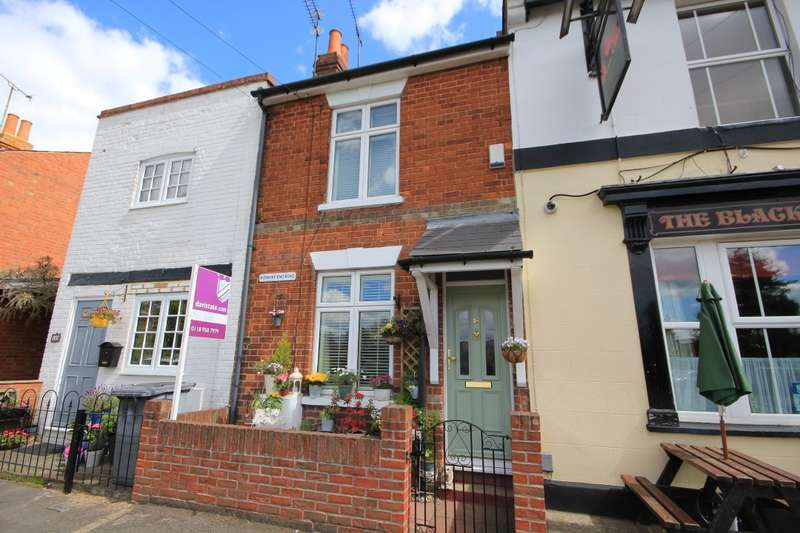 2 Bedrooms Terraced House for sale in Kidmore End Road, Emmer Green, Reading, RG4
