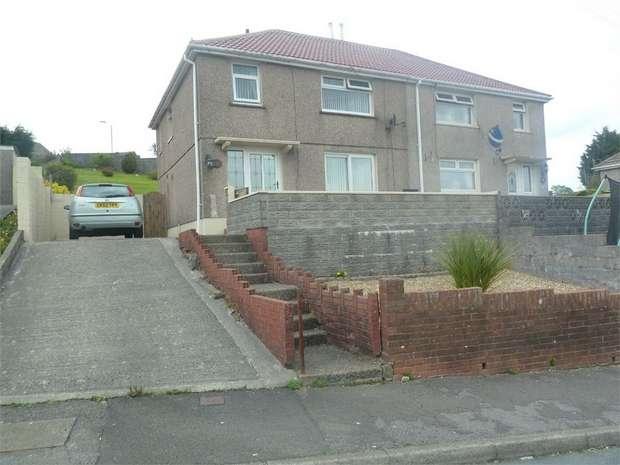 3 Bedrooms Semi Detached House for sale in Brynllwarch, Maesteg, Maesteg, Mid Glamorgan