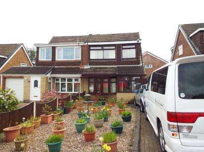 3 Bedrooms Semi Detached House for sale in Lockerbie Place, Wigan, Greater Manchester, WN3