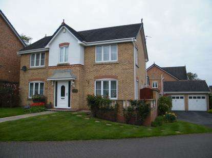 4 Bedrooms Detached House for sale in Sunningdale Close, Winsford, Cheshire, England