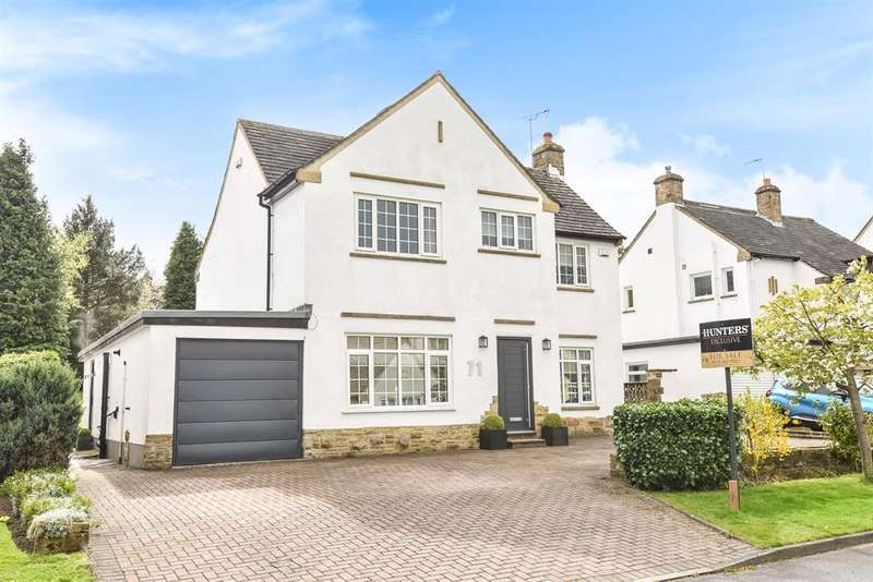 5 Bedrooms Detached House for sale in Westgate, Guiseley, Leeds, LS20 8HH