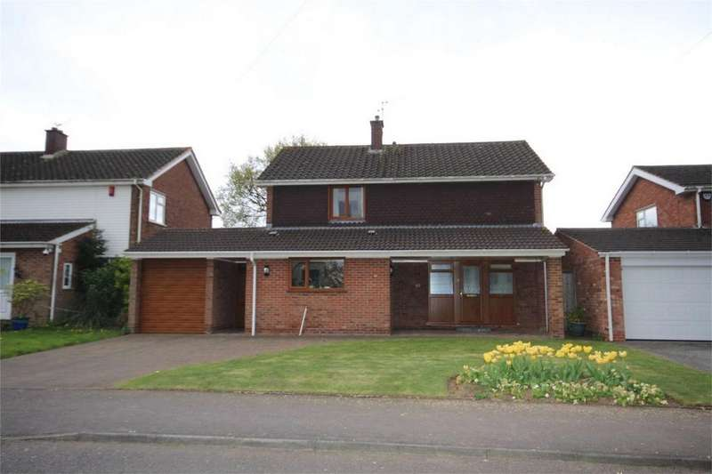 4 Bedrooms Detached House for sale in Ennerdale Crescent, St Nicolas Park, Nuneaton, Warwickshire
