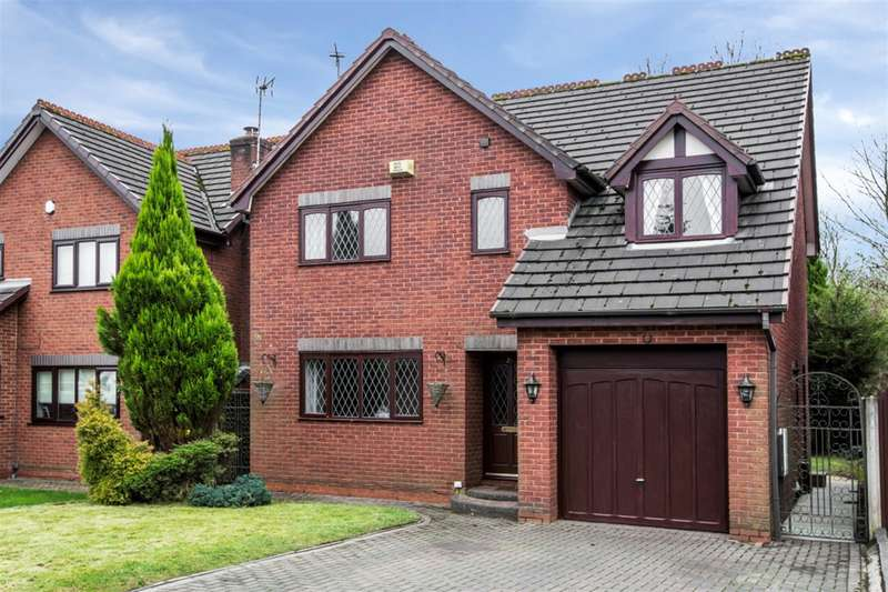 4 Bedrooms Detached House for rent in Bellpit Close, Worsley, Manchester, M28 7XH